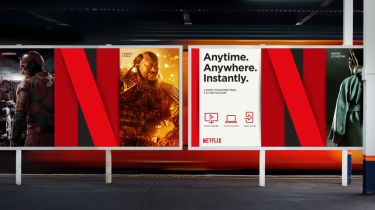 Netflix billboard reclame advertenties