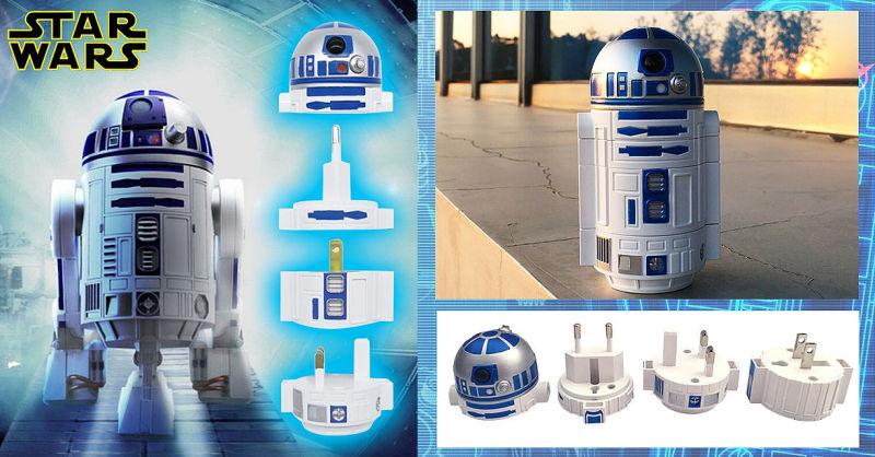 R2-D2 Star Wars reisadapter
