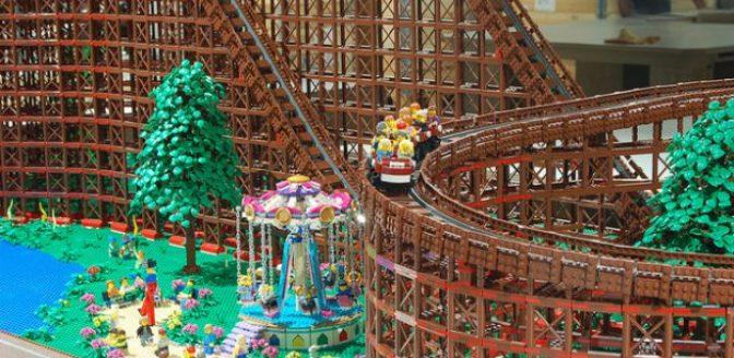 Lego achtbaan