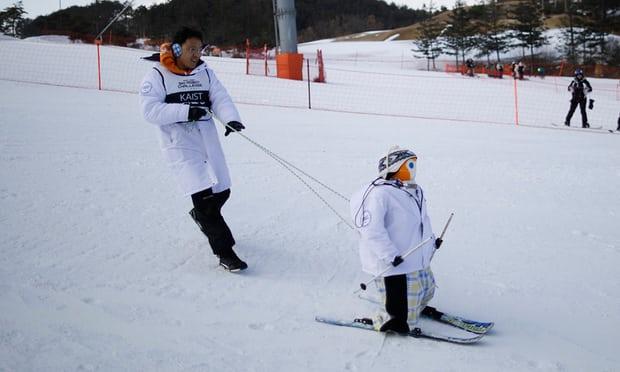 Ski robots Olympische Spelen