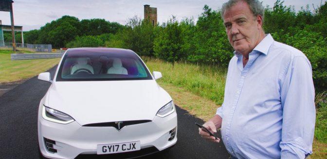 Tesla Model X Jeremy Clarkson