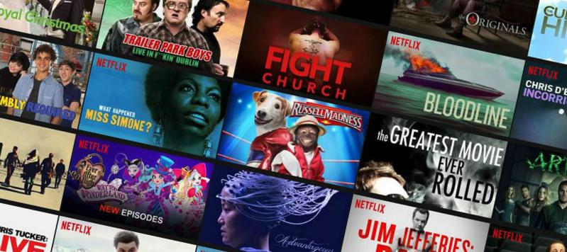 Netflix Videoland aanbod Just watch
