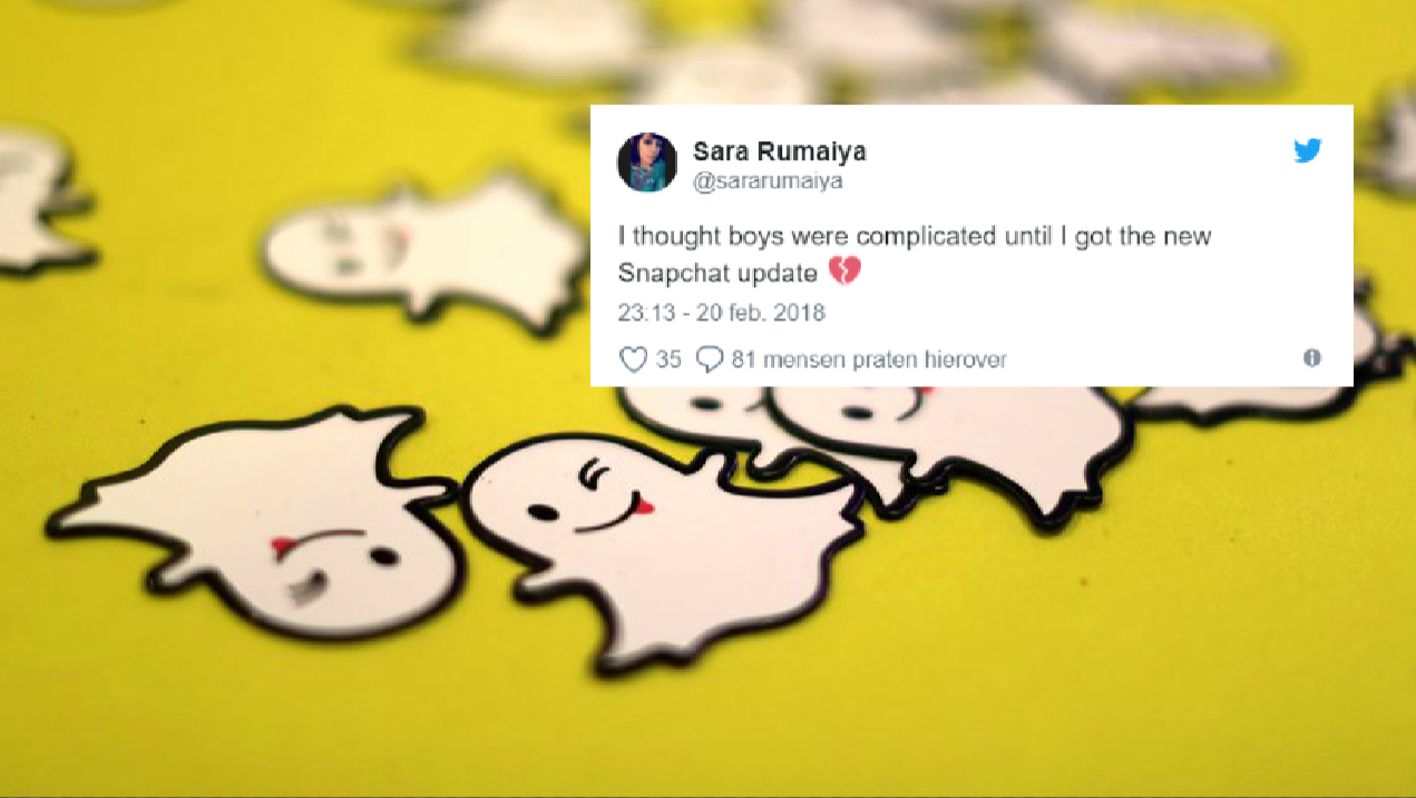 Twitter gaat los op het nieuwe design van Snapchat met hilarische tweets