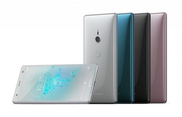 Sony Xperia XZ2 gelekt