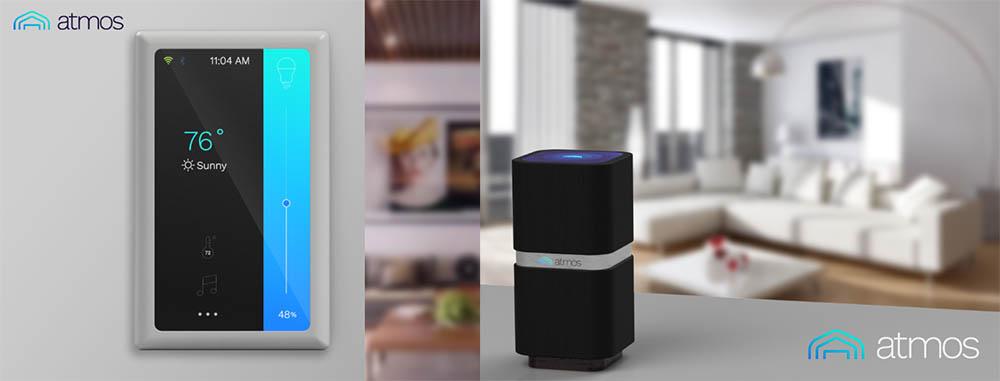 Atmos slimme speaker en lichtschakelaar