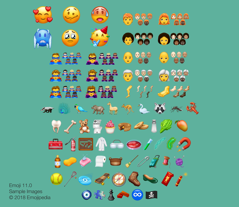 Emoji nieuwe