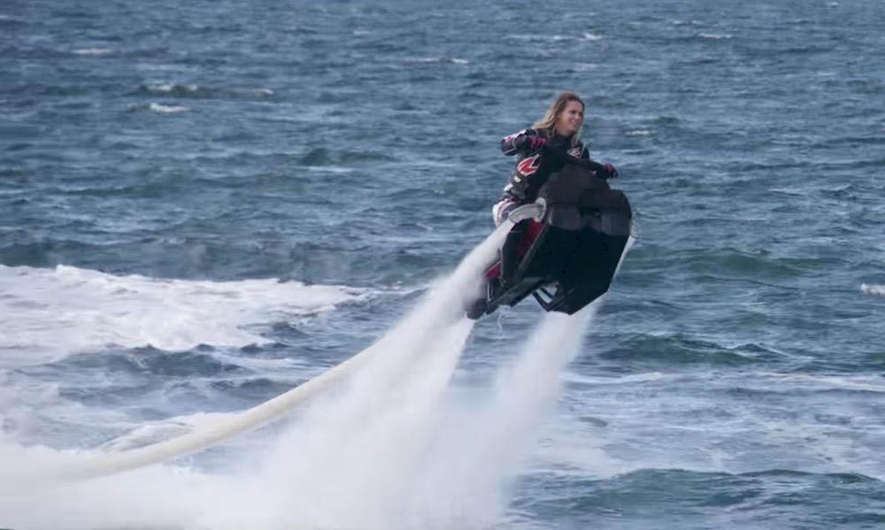 Flyride vliegende jetski