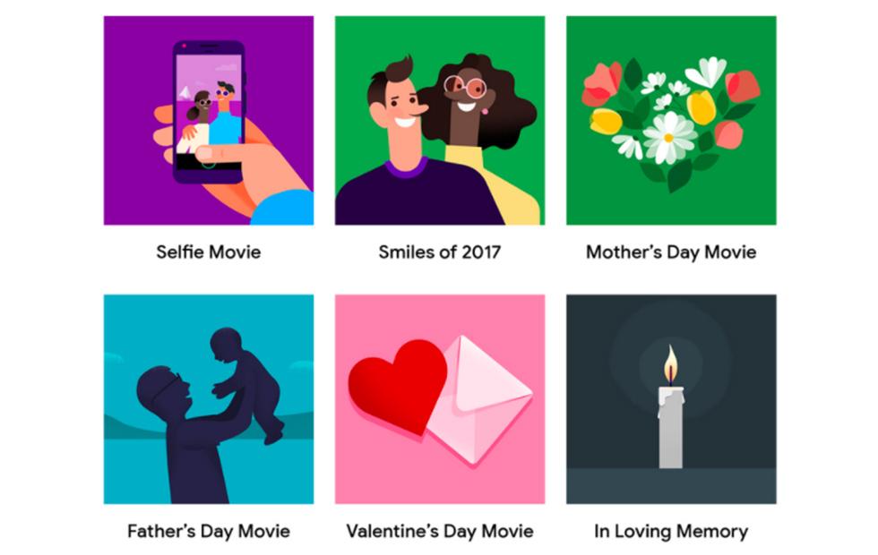 Google Photos foto's Valentijnsdag