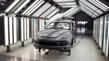 Porsche Cayenne Platform