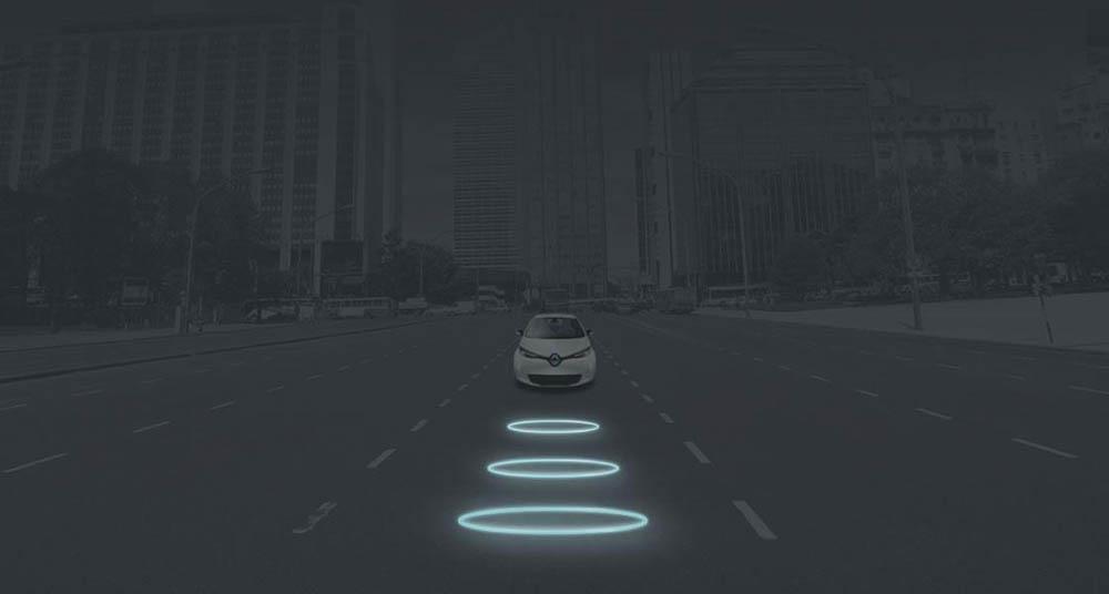 Handig Deze Elektrische Auto Kun Je Draadloos Opladen Want