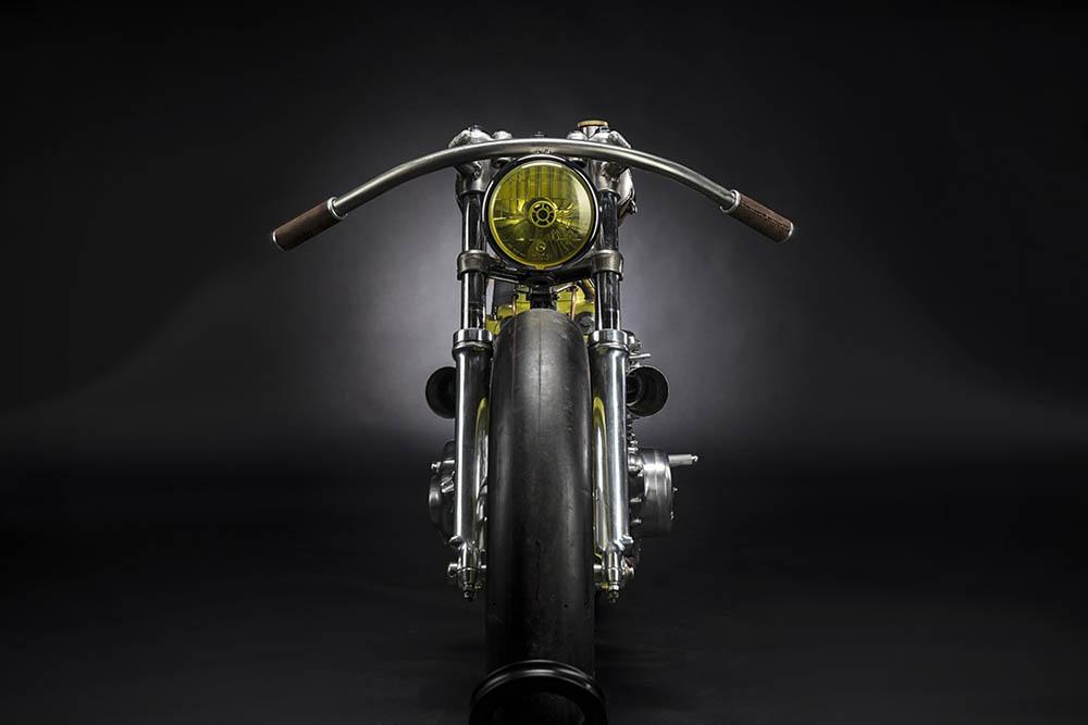 Titan One custom motorfiets
