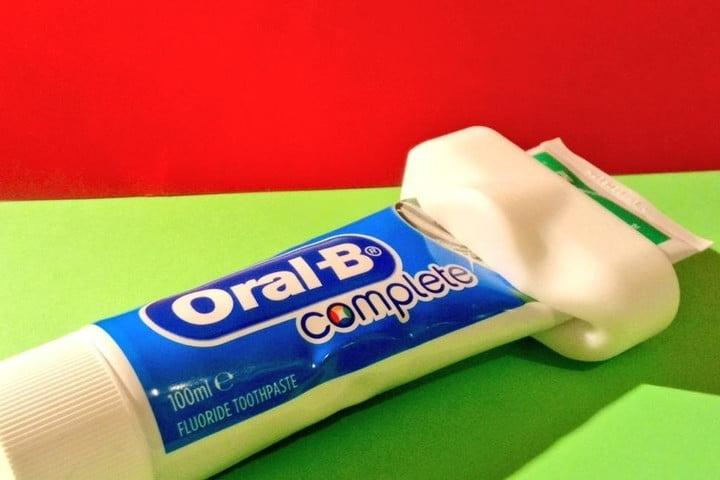 Tandpasta tube