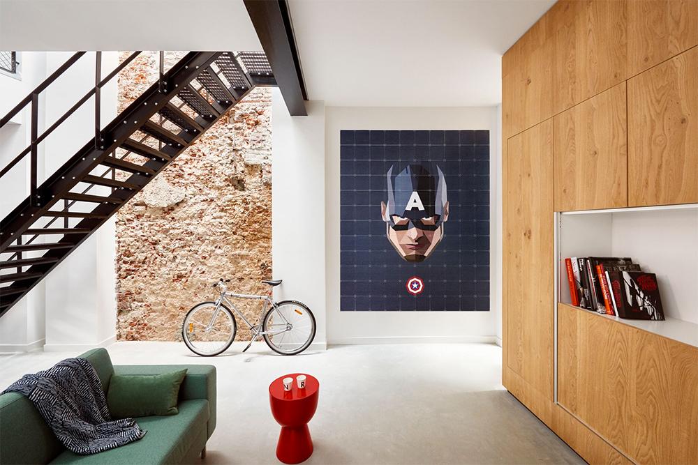 Win: minimalistische IXXI wanddecoratie van je favoriete Marvel ...