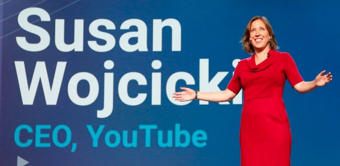 Facebook YouTube CEO Susan Wojcicki