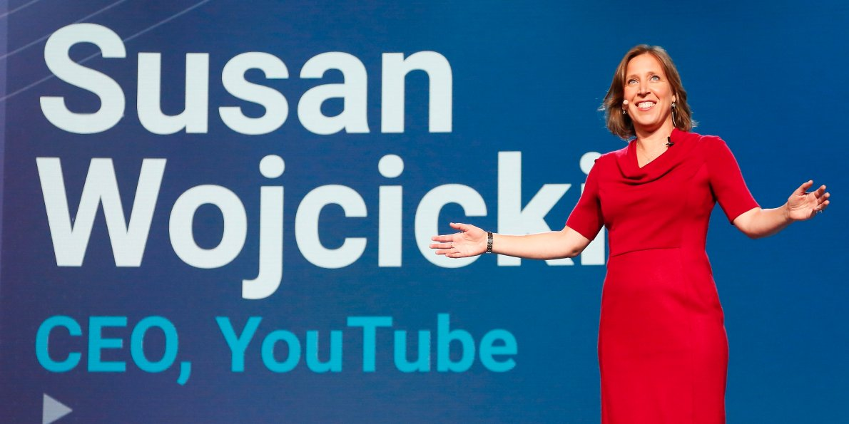 Facebook YouTube CEO Susan Wojcicki
