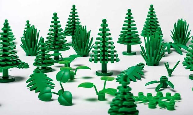 LEGO Duurzaam plastic
