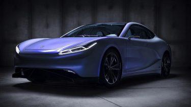 Chinese elektrische auto LVCHI Venere