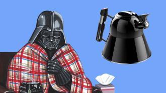 Star Wars Darth vader theepot