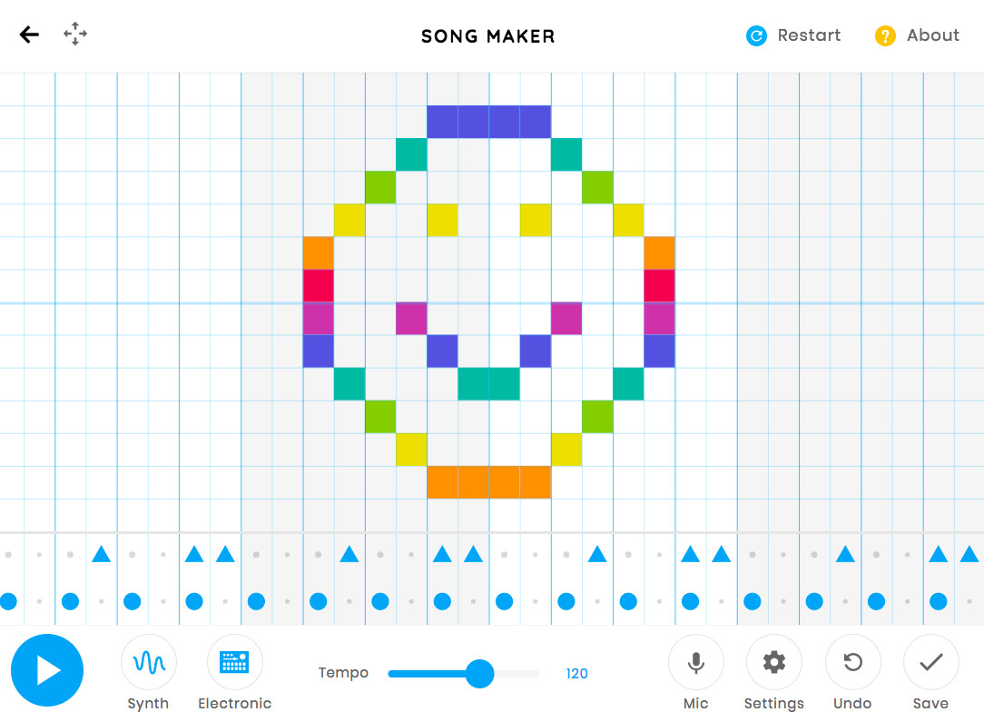 Chrome Music Lab Song Maker Google