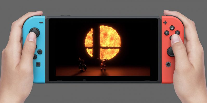 Super Smash bros Switch
