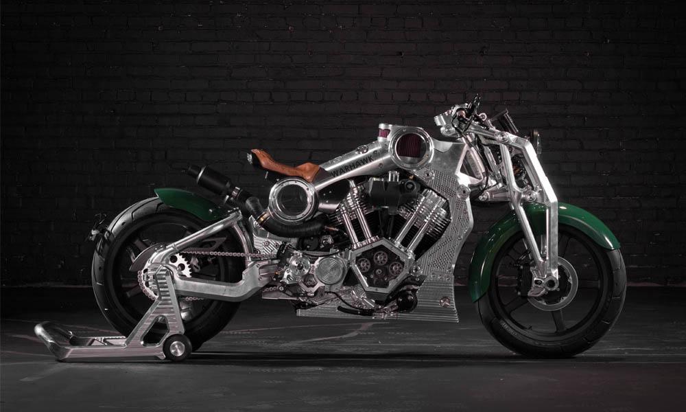 Curtiss Warkhawk motorfiets
