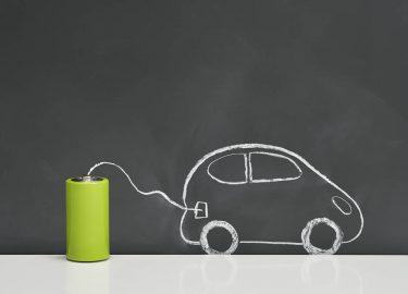 Elektrische auto's batterij