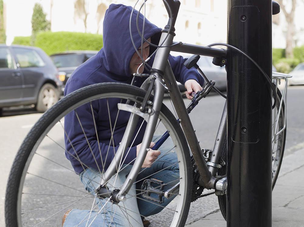 fiets dief