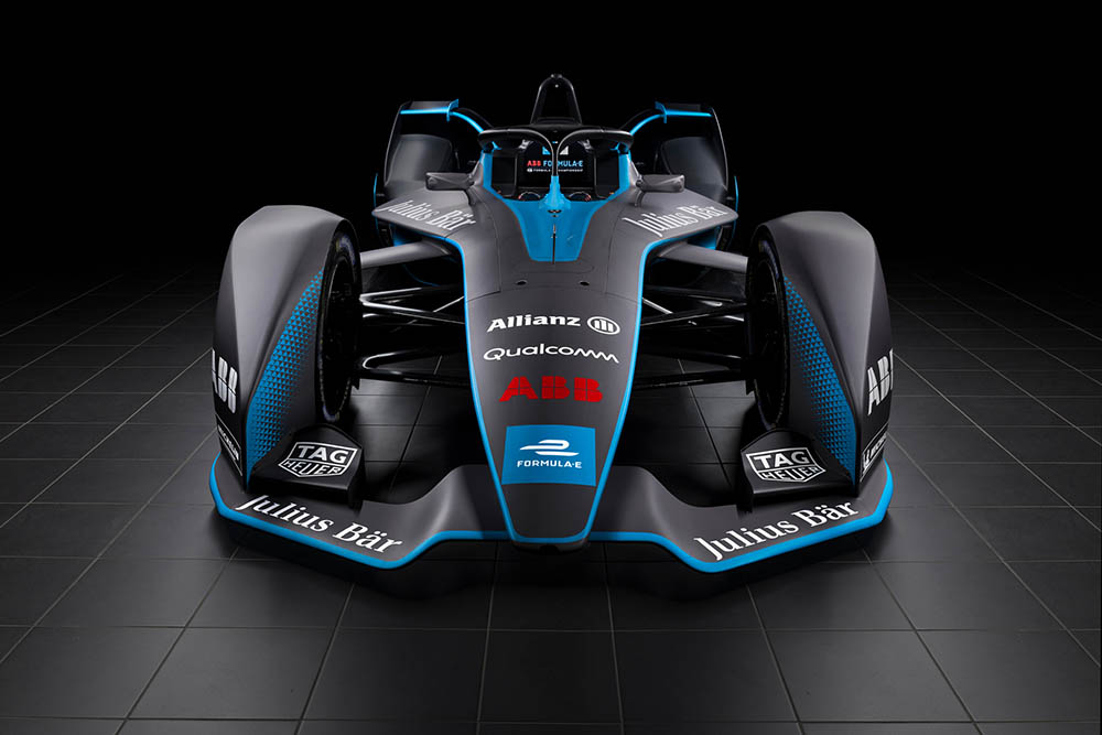 Formule E nieuwe raceauto