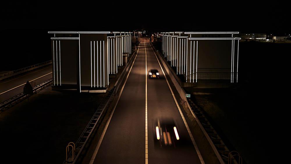 Gates of Light lichtvervuiling Daan Roosegarde
