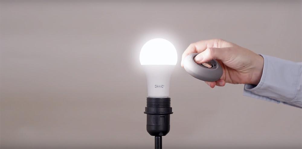 Ikea TRÅDFRI slimme lampen