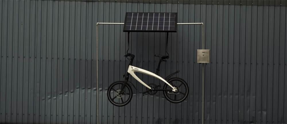 KVAERN ebike met Powerwall oplader voor fietsen