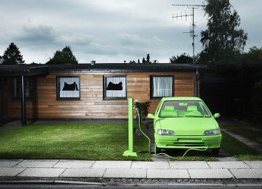 laadpaal elektrische auto thuis opladen