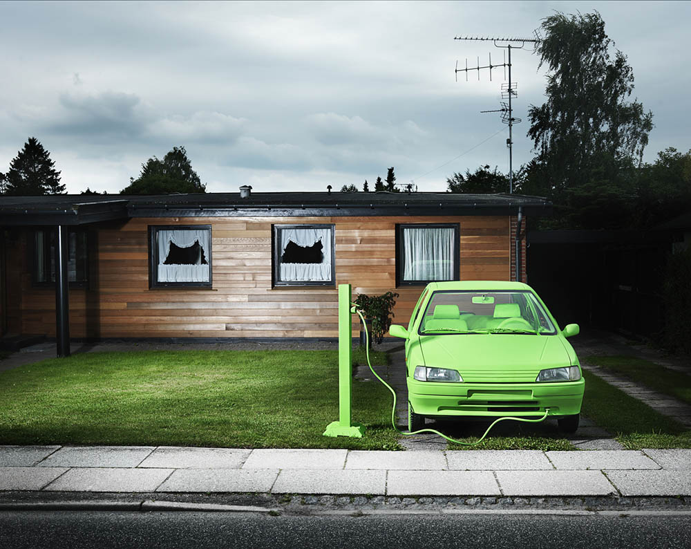 oplaadpunt elektrische auto thuis