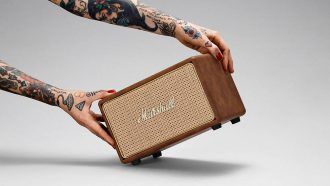 Marshall Acton Tawny bluetooth speaker