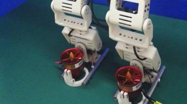 robot jet powered