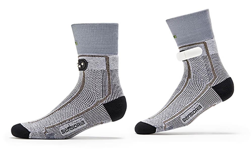 Sensoria slimme kleding sokken