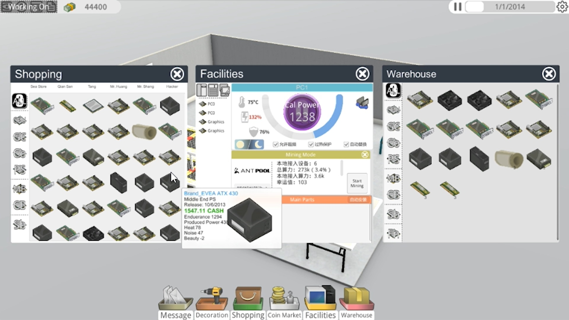 Bitcoin Tycoon simulator game