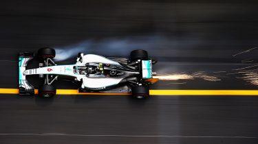 Formule 1 rijlijnen