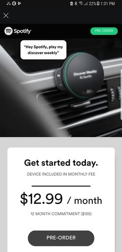 Spotify draadloze smart speaker 2