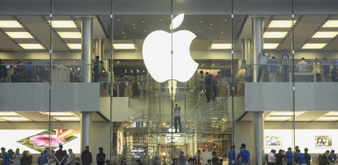 Apple winkel