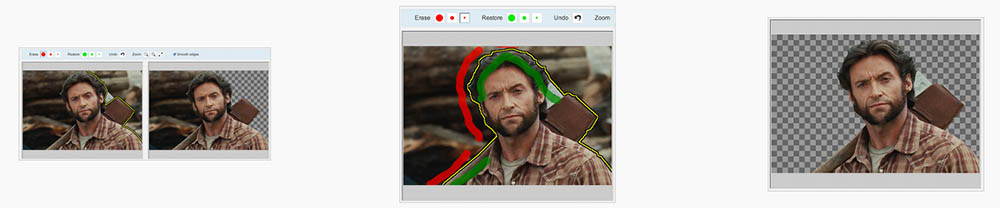 Background Burner online tool