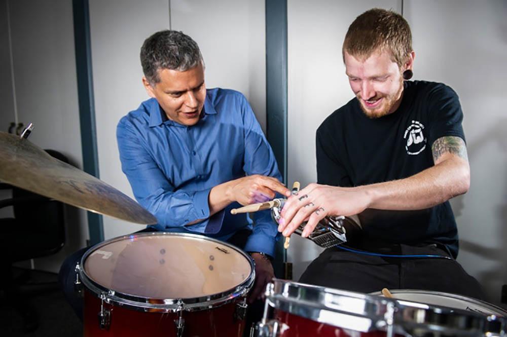 drummer robotarm