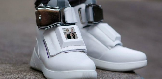 High-tech sneakers