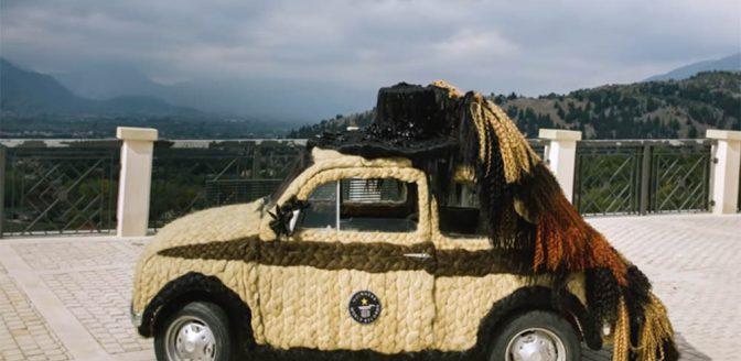 harige auto
