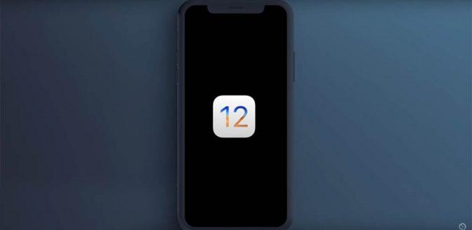 iOS 12 concept