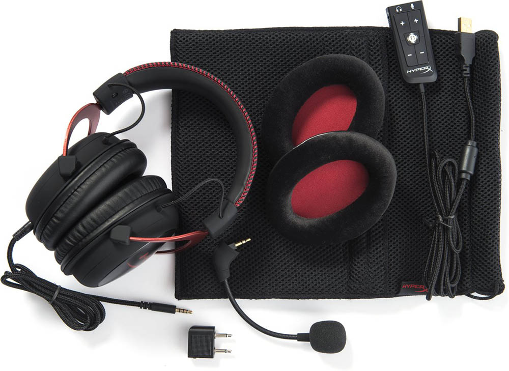Kingston HyperX Cloud II headphones
