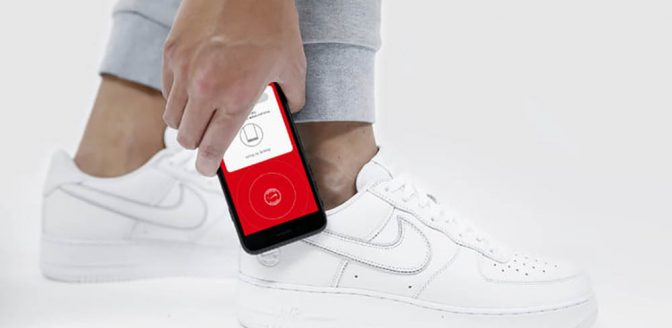 NikeConnect sneakers