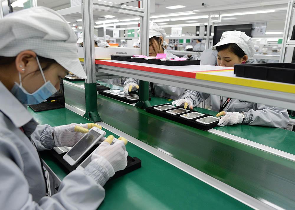 fabriek smartphones