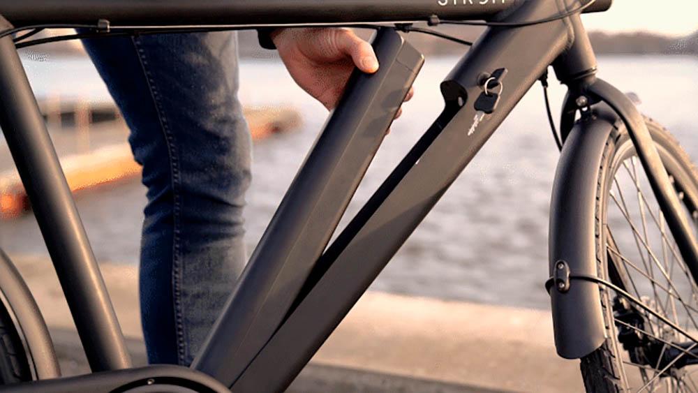 Beste Lichte Stadsfiets : Deense elektrische fiets is zo licht als een veertje en zo stil als