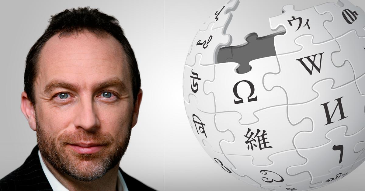 Jimmy Wales Wikipedia Crypto Bitcoin
